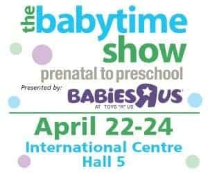 Baby Time Show Toronto April 2016 LOGO