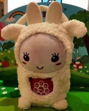 pochette mouton blanc