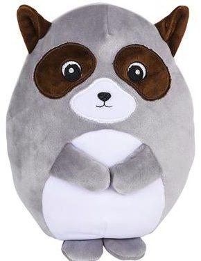 9 inch oval soft raccoon pal
