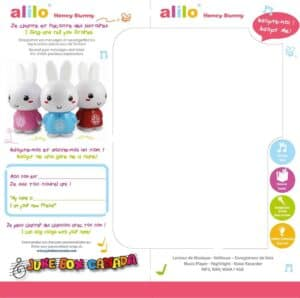 Alilo Front and Side of Box BILINGUAL