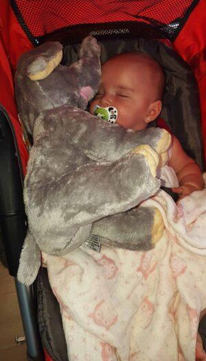 Baby with Elephant