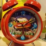 Red CARS Personalized Singing alarm clock