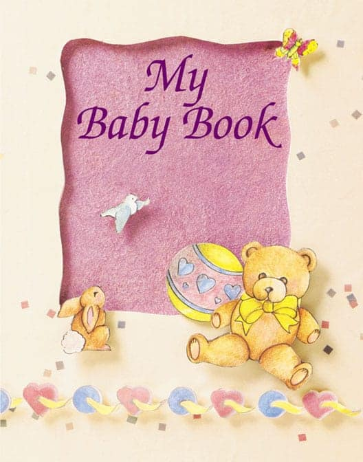 My Baby Book Personalized Book