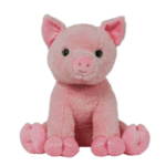Singing personalized pink pig